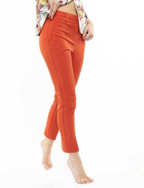 Pantalone Vougue con tasche finte - Arancione