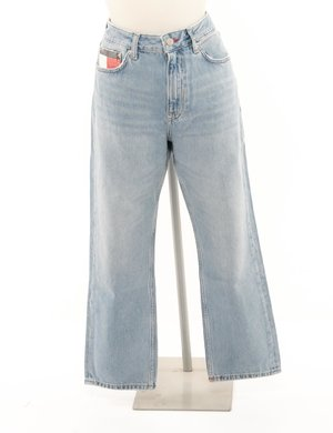 Jeans Tommy Hilfiger taschino con logo