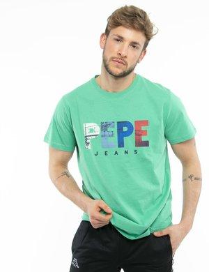 T-shirt Pepe Jeans con logo colorato