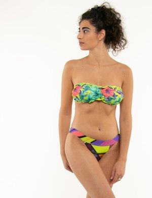 Costume F**k bikini floreale