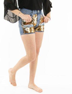 Shorts Fracomina con paillettes