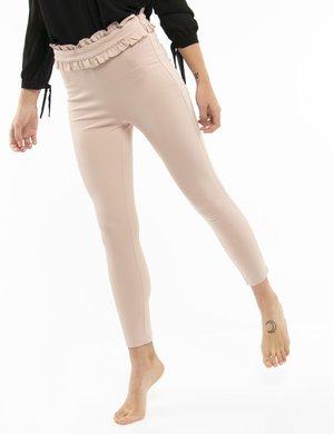 Pantalone Fracomina con fascia arricciata