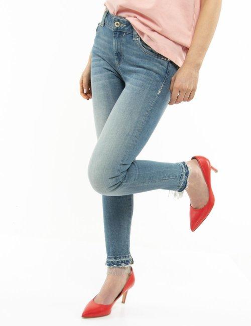 Jeans Fracomina con orlo decorato - Jeans