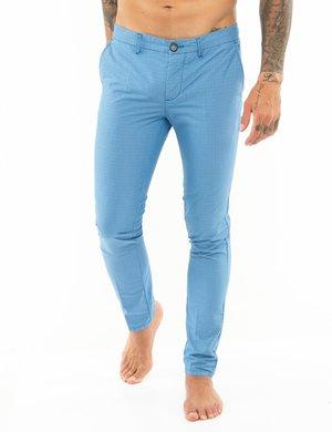 Pantalone Dimattia tessuto puntinato