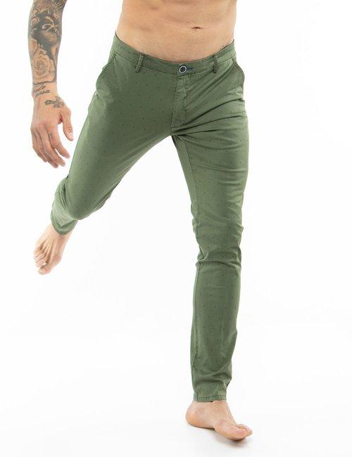 Pantalone Dimattia fantasia - Verde