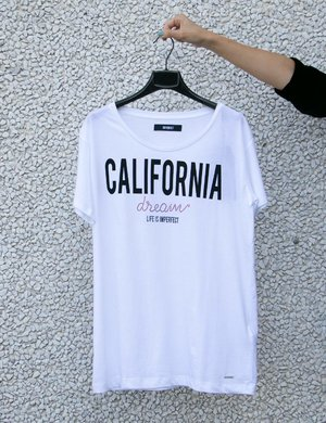 T-shirt Imperfect California dream