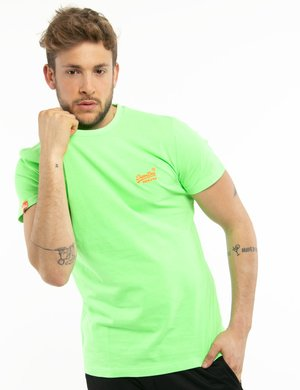 T-shirt Superdry con logo fluo