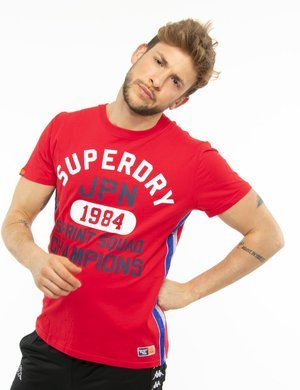 T-shirt Superdry stampata