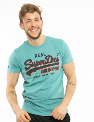 T-shirt Superdry con logo in corsivo