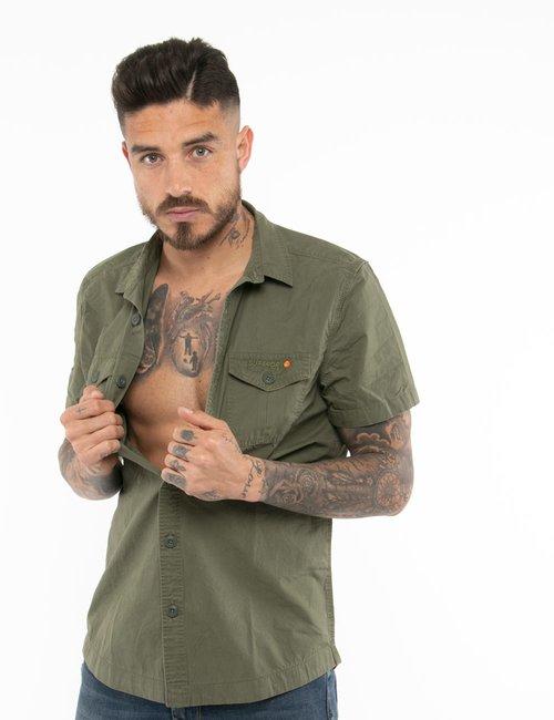 Camicia Superdry con tasche - Verde