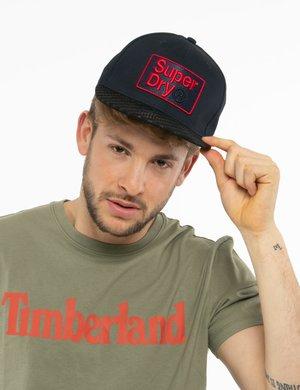 Cappellino Superdry con logo ricamato