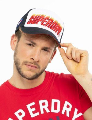 Cappellino Superdry con logo in rilievo