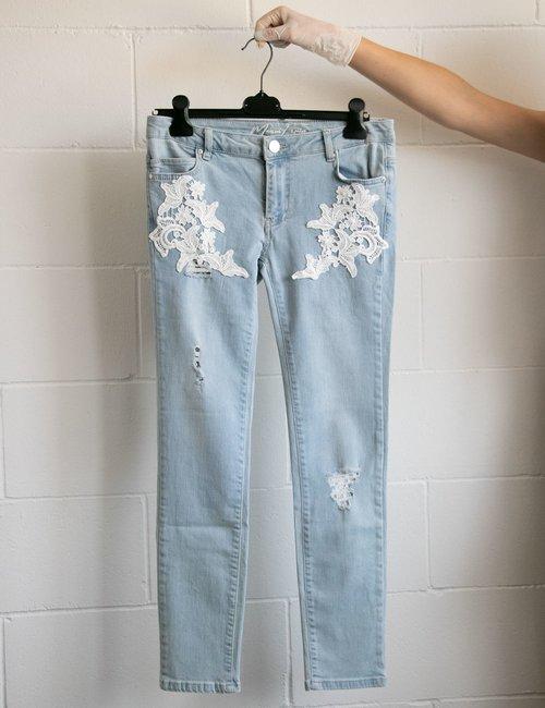 Jeans Maison Espin con ricami - Jeans