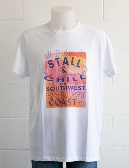 T-shirt Pepe Jeans stampata - Bianco