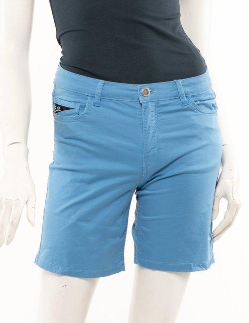 Shorts Yes Zee in cotone - Azzurro