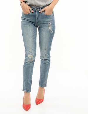 Jeans Yes Zee con applicazioni