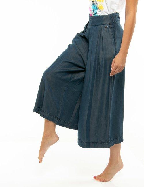Pantalone Yes Zee ampio - Blu