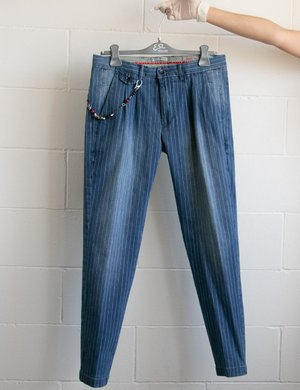 Jeans yes Zee a righe