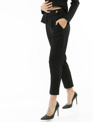 Pantalone Vougue con bottone a lato