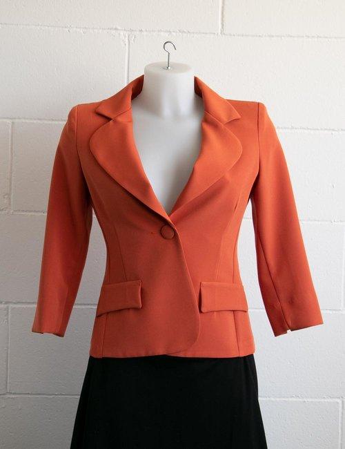 Blazer Vougue con finte tasche - Arancione