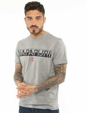T-shirt Napapijri con logo