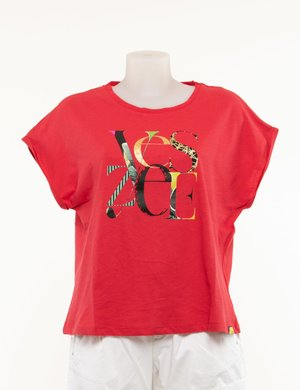 T-shirt Yes Zee con logo stampato