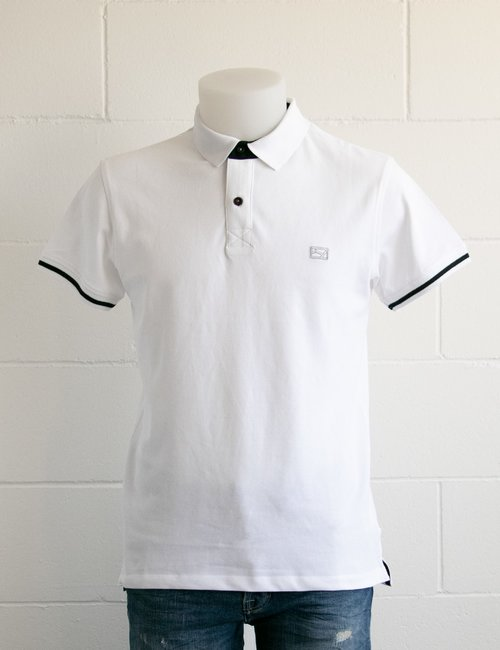 Polo Yes Zee con logo ricamato - Bianco