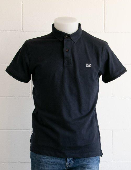 Polo Yes Zee con logo ricamato - Blu