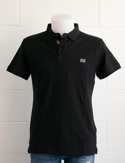 Polo Yes Zee con logo ricamato - Nero