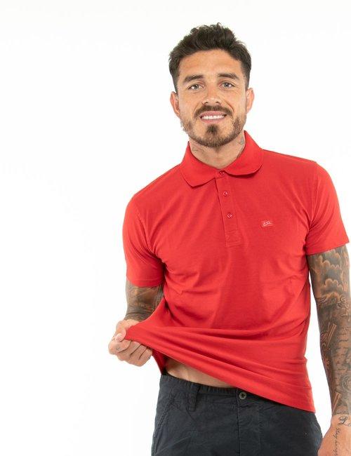 Polo Yes Zee con logo a lato - Rosso