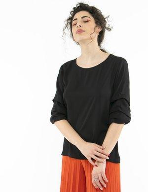 Camicia Vougue con maniche arricciate