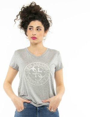 T-shirt Guess con stampa glitterata