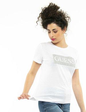 T-shirt Guess con glitter
