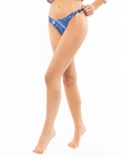 Costume Pepe Jeans slip floreale - Blu