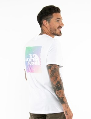 T-shirt The North Face con stampa sul retro