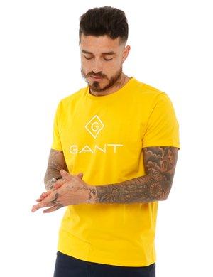 T-shirt Gant con logo stampato