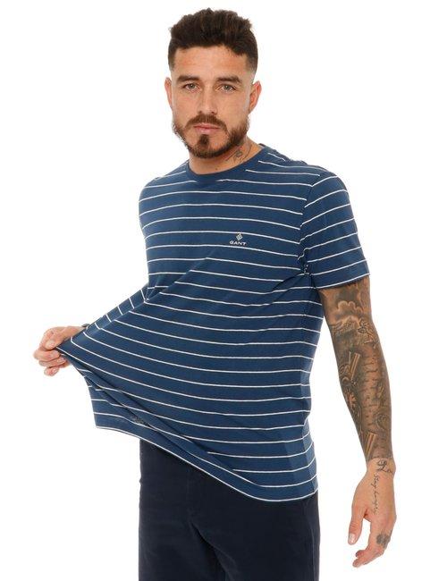 T-shirt Gant a righe - Blu