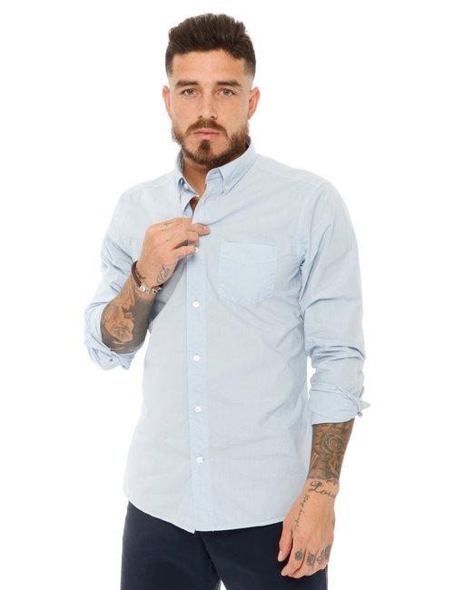Camicia Gant in cotone - Azzurro