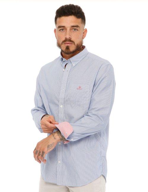 Camicia Gant con taschino - Blu