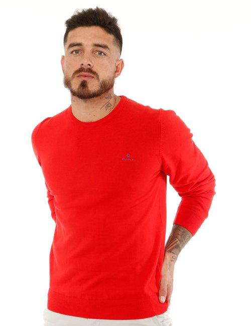 Maglione Gant girocollo - Rosso