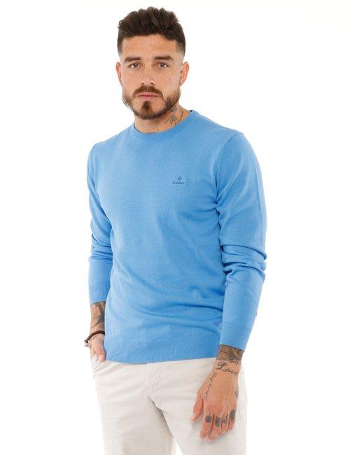 Maglione Gant girocollo - Azzurro