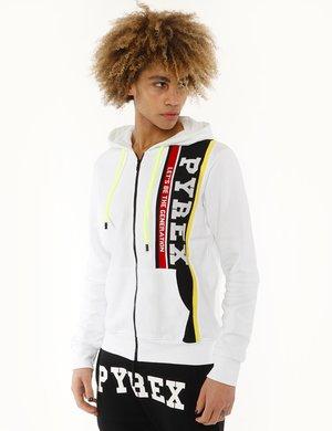 Felpa Pyrex con logo in maglia