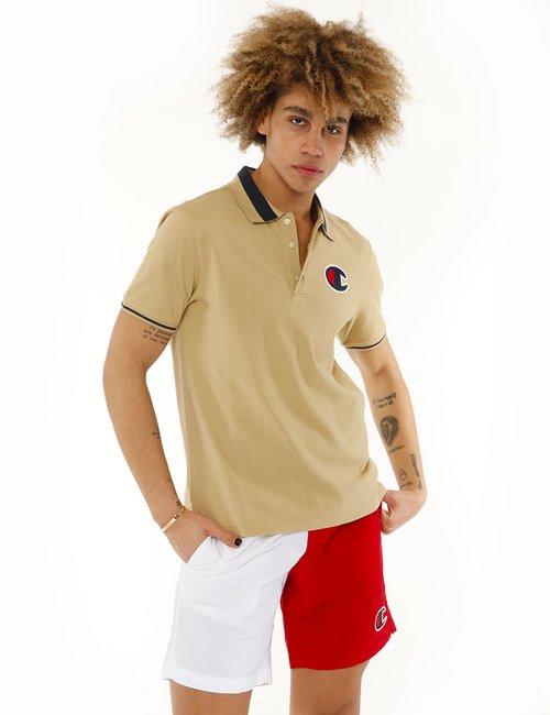 Polo Champion in cotone - Beige