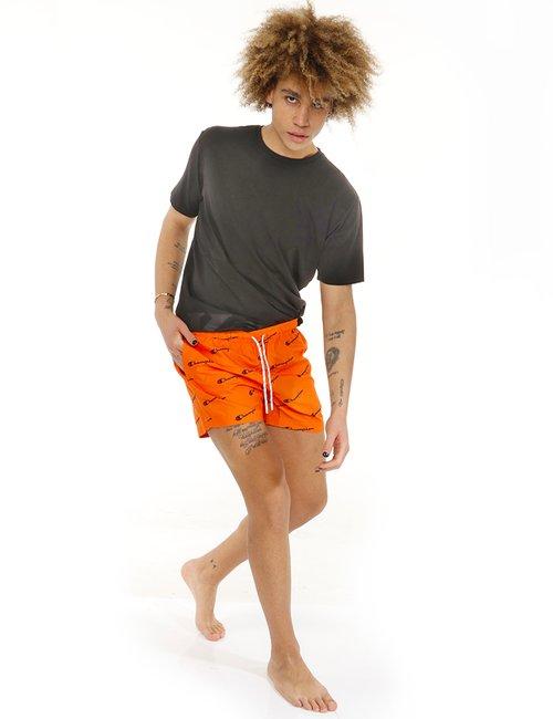 Costume Champion con logo all over - Arancione