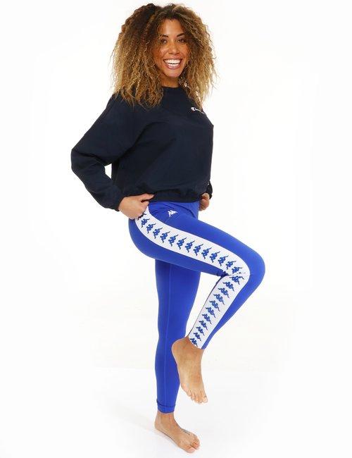 Pantalone Kappa con logo - Blu