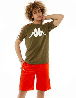 T-shirt Kappa con logo stampato