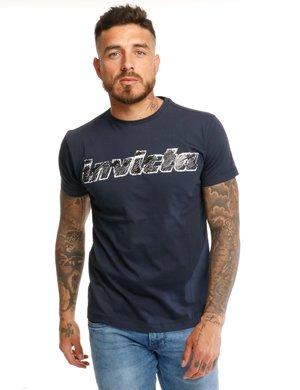 T-shirt Invicta con maxi logo