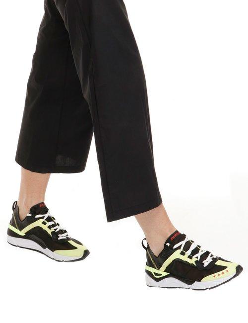 Sneaker Invicta a due colori - Nero