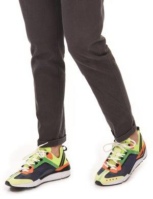 Sneaker Invicta colorata