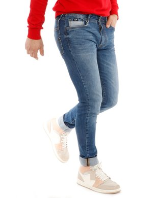 Jeans Gas con logo